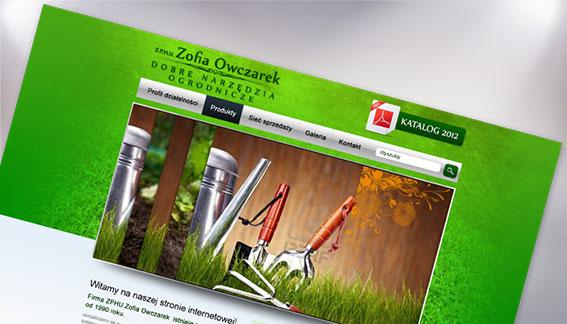 Strona Internetowa Narzędzia Ogrodnicze Końskie