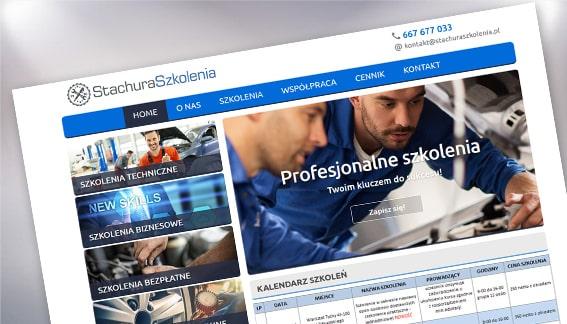 Strona Internetowa Szkolenia dla Warsztatów Samochodowych Śląskie