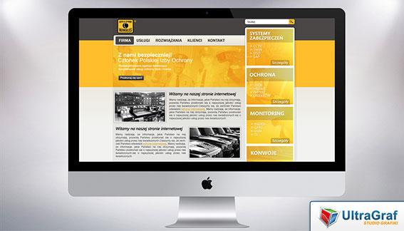 Strona Internetowa Systemy Zabezpieczeń Monitoring Ochrona Konwoje Kielce