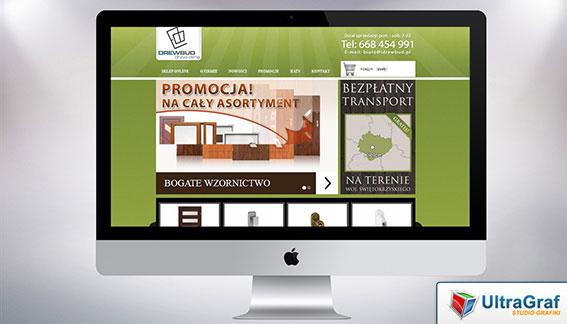 Strona Internetowa Wszystko dla Drzwi Kielce