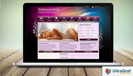 Strona Internetowa Portal dla Dorosłych Warszawa