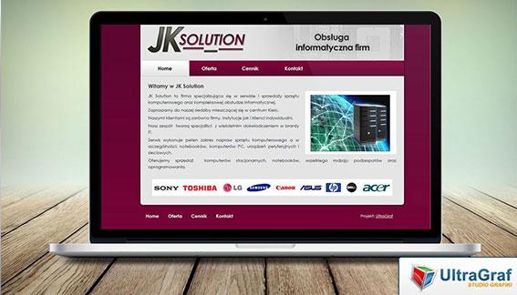 Strona Internetowa Obsługa Informatyczna Firm Kielce