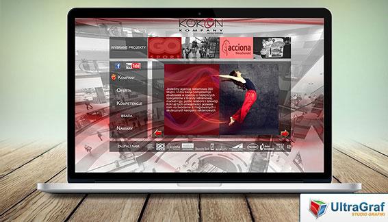 Strona Internetowa Agencja Reklamowa 360 Warszawa