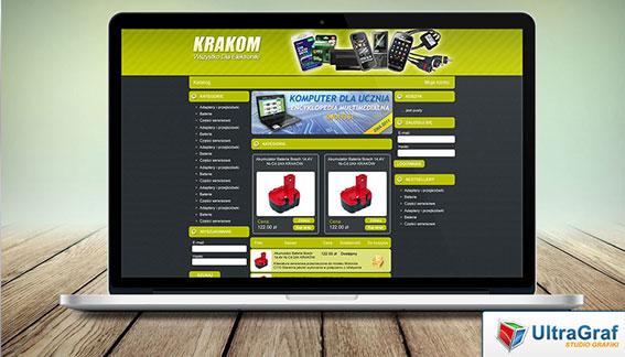 Sklep Internetowy Elektronika Kraków