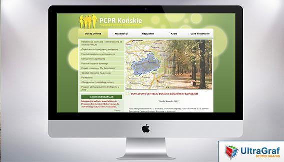 Strona Internetowa PCPR Powiatowe Centrum Pomocy Rodzinie Końskie