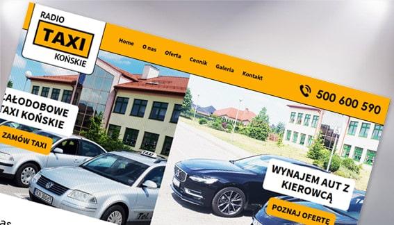 Strona Internetowa Radio Taxi Końskie