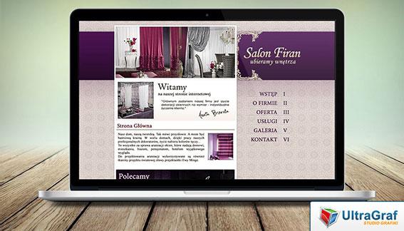 Strona Internetowa Salon Firan Końskie