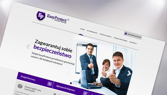 Strona Internetowa Ubezpieczenia EasyProtect Warszawa