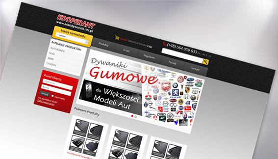 Sklep Internetowy Dywaniki Gumowe do Aut Kooperant Końskie