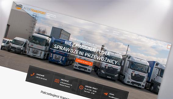 Strona Internetowa Transport Spedycja Logistyka InterTransport