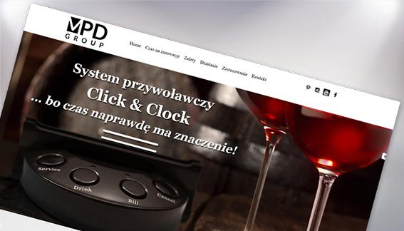 Strona Internetowa Restauracje Urządzenia Obsługi MPD GROUP Kielce