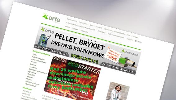 Sklep Internetowy Sprzedaż Pellet Brykiet Drewno Kominkowe Orte Żabia-Wola Warszawa
