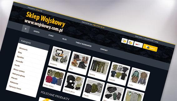 Sklep Internetowy Wojskowy Warszawa