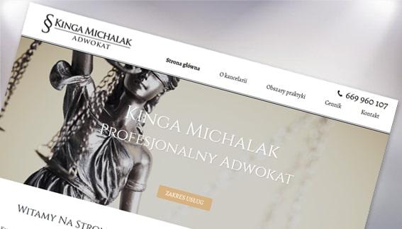 Strona Internetowa Adwokat Kinga Michalak Końskie