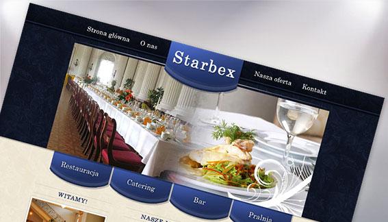 Strona Internetowa Restauracja Chrzciny Wesela Imprezy Starbex Końskie
