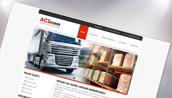 Strona Internetowa Transport Przesyłek ACSKurier Końskie