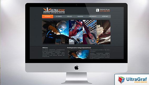 Strona Internetowa Usługi Spawalnicze Ultraspaw Końskie