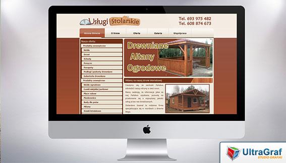 Strona Internetowa Usługi Stolarskie Drewaniane Altany Ogrodowe Końskie