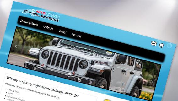 Strona internetowa Auto Myjnia Express Radom