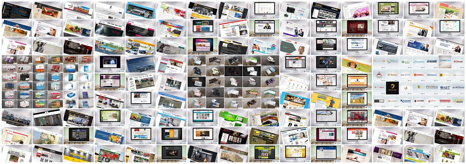 Strony I sklepy Internetowe Pozycjonowanie Marketing SEO UltraGraf Końskie - Portfolio